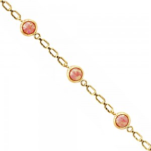 Bracelet with opal