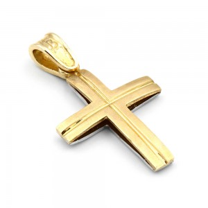 14 carats golden cross