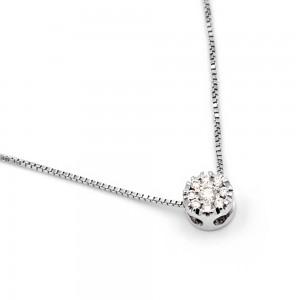 Κολιέ με διαμάντια