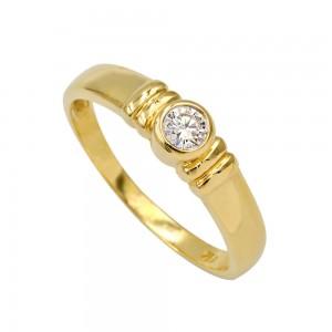 Δαχτυλίδι μονόπετρο