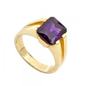 Δαχτυλίδι με μωβ Ζιρκόν